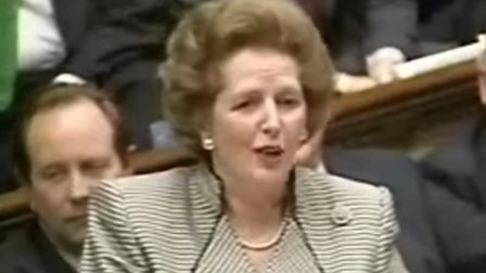 Margaret Thatcher speaking at prime minister's questions in the House of Commons (Pic: YouTube)