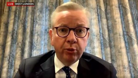 Michael Gove becomes the latest cabinet minister to self-isolate during the coronavirus outbreak. Ph