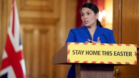 Home secretary Priti Patel. Photograph: Pippa Fowles/10 Downing Street/Crown Copyright/PA Wire.