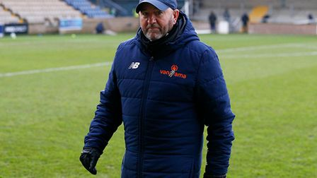 Gary Johnson, Manager of Torquay United before the National League match between Torquay United and