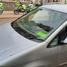 A VW was stopped on Dene Street, in Great Yarmouth, on Saturday, February 20.