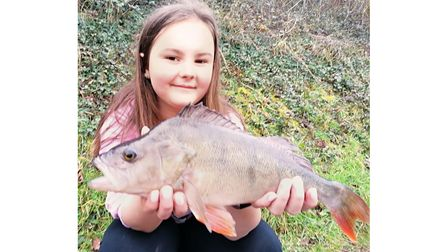 Summer Skelly with a 2lbs 3oz perch from Newbarn