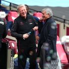 West Ham United manager David Moyes (and Tottenham manager Jose Mourinho