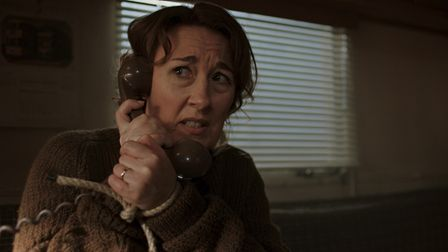 A kidnappedDorothy Atkinson as Mrs Pennyworth in season two of Pennyworth.