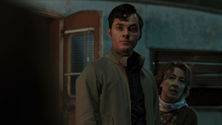 Jack Bannon as Alfred Pennyworth andDorothy Atkinson as Mrs Pennyworth in season two of Pennyworth.