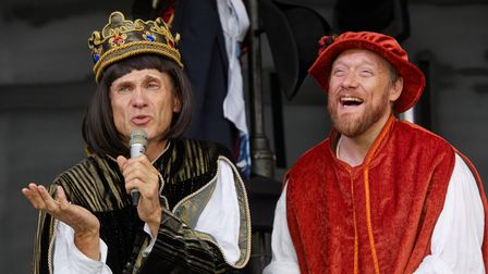 Car Park Party presents Horrible Histories Barmy Britain at Knebworth House.