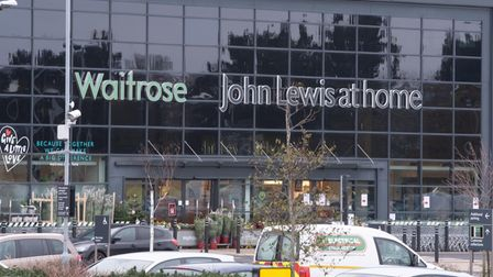 The Futura Park branch of John Lewis in Ipswich