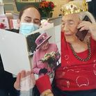 Kathleen Jarman (nee Burgess) celebrated her 100th birthday on  February 12
