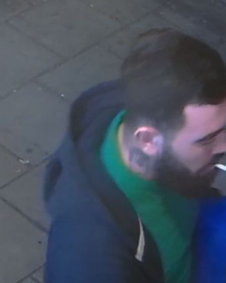 Anyone who recognises the man is asked to call 101 and quote CAD 5887/15FEB or Crimestoppers on0800 555 111.