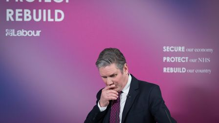 Labour leader Sir Keir Starmer delivers a virtual speech on Britain's economic future in the wake of