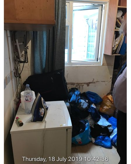 squalid flat in Willesden