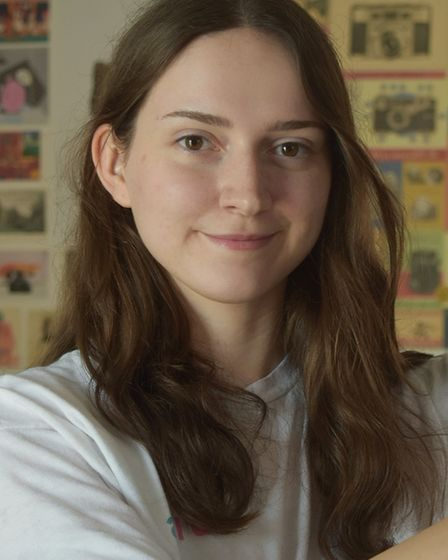 Josy Ebbs, who will also have her work displayed at The Royal Society of British Artists (RBA) Star Students exhibition