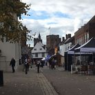 St Peter's Street, St Albans city centre.