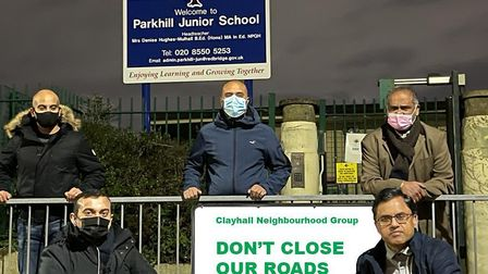Clayhall Neighbourhood Group opposes the council's School Streets plan in Clayhall