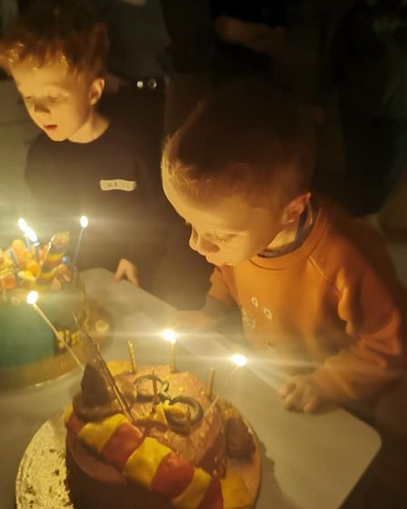 Archie and his twin brother, Henry, celebrated their fifth birthday last month