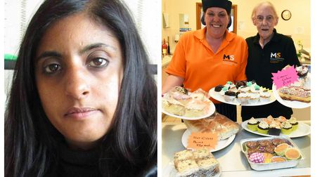 Since the Marjorie Collins Multiple Sclerosis Day Centrecan't host any in-person charity eventsvolunteer Kitty Sajjan is hosting a virtual cake sale.