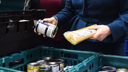 Food bank use has tripled in Brent over the summer. Picture: Andy Buchanan/PA