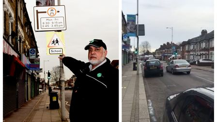 Farooque Azad received a PCN for turning onto a restricted school street because someone had maliciously turned sign the...