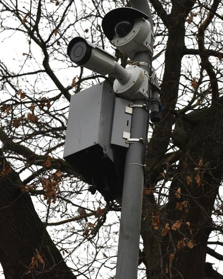 CCTV cameras at the junction of Golfe Road and South Park Road
