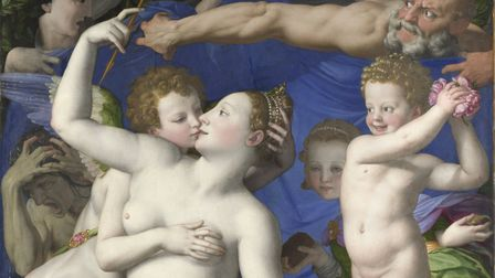 An Allegory with Venus and Cupid Bronzino about 1545