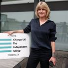 Rachel Johnson was a candidate for the pro-EU political party, Change UK. Picture: ADRIAN DENNIS/AFP