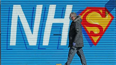 Around 2,800 overseas NHS workers face going home in 12 months if they are not offered the right to remain; Peter Byrne