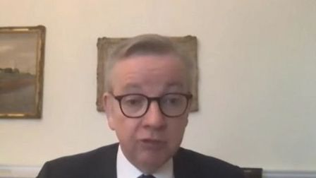 Michael Gove has revealed that almost 100 civil servants have been redeployed from the Brexit taskfo