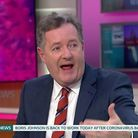 Piers Morgan called the ban on ministers appearing on GMB 'pathetic and cowardly' on Twitter. Photo: