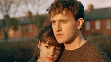 Daisy Edgar Jones and Paul Mescal in BBC drama Normal People. Picture: BBC