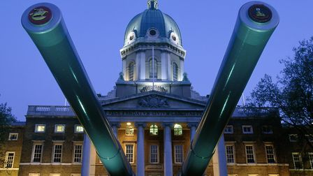 London's Imperial War Museum, where Will Self often finds himself during his night-time walks throug