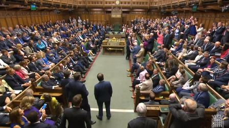 MPs in the House of Commons. Photograph: PA Wire.