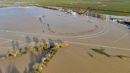 Flooding in Hunts at Christmas