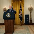 Joe Biden speaks to the Munich Security Conference from the White House