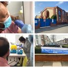 The Balfour Road mosque was transformed into a pop-up vaccine centre. CllrShoaib Patel was one of the lucky recipients to receive the jab.