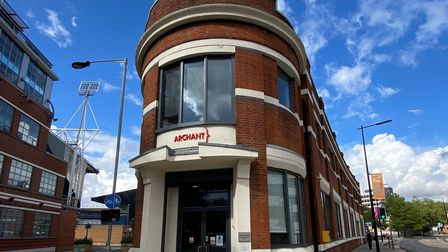 Portman House, the former home of Archant Suffolk, is available to lease through estate agents Savills