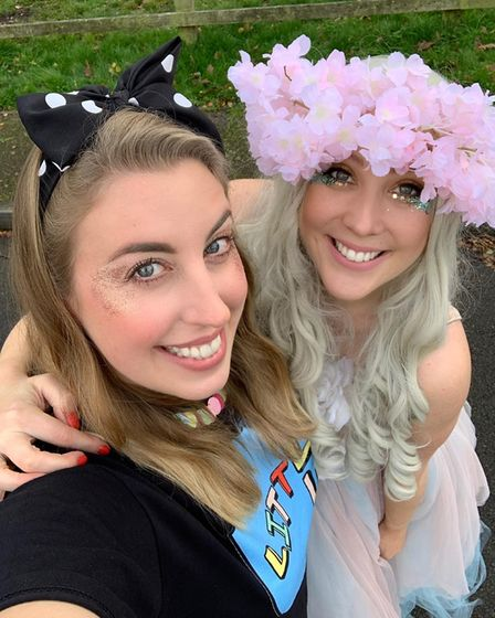 Lucy Spafford (left) and Sophie Adams (right) launched Little Club in March 2020