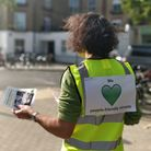 Low Traffic Islington group members designed a smart green heart logo