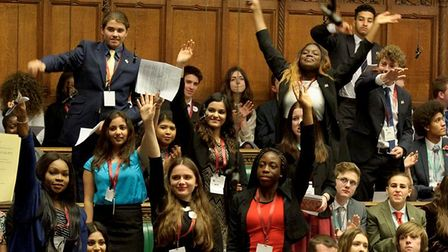 Hackney Youth Parliament, 2016.