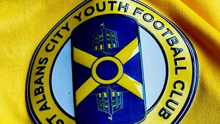 St Albans City Youth new badge
