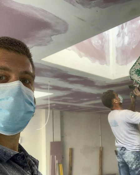 Upminster men renovate Hornchurch space for coffee business