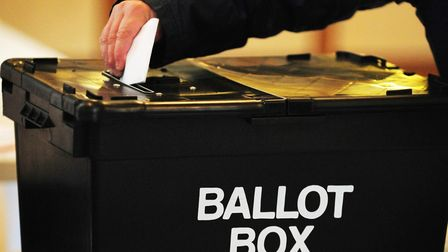 A ballot box. Picture: PA
