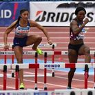 Newham & Essex Beagles Emma Nwofor in action for GB