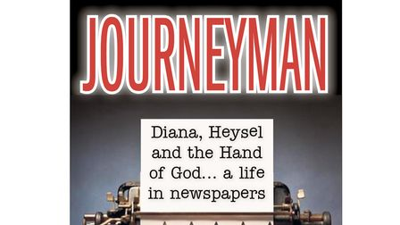 The cover of Journeyman, a book by former Stevenage journalist Paul Fry