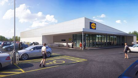 A new Lidl could be coming to 5 Rainham Road, Rainham.