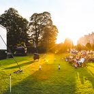 Valentines Park is set to be the venue of outdoor movie screenings this summer, like this one hosted by Adventure Cinema in Chirk Castle.