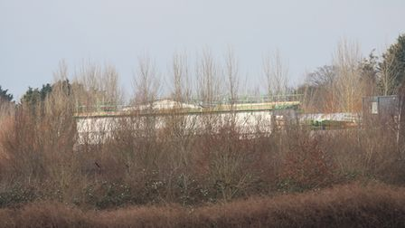 A building erected on the car park site since Butterfly World closed.