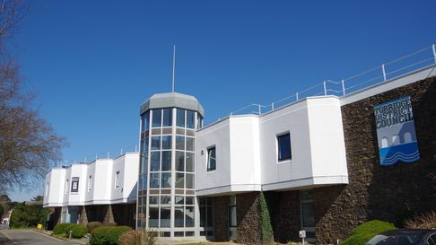 Torridge District Council's HQ, Riverbank House, in Bideford