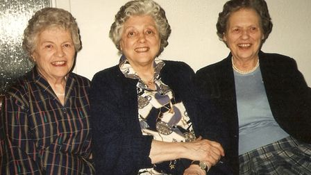 The Trump sisters from left to right: Mary, Barbara and Ruth