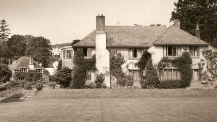 Side view of Lodge Orchard, Cotmaton Road