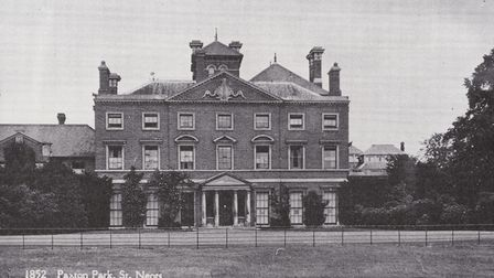 The Paxton Park Maternity Home in St Neots in 1959.